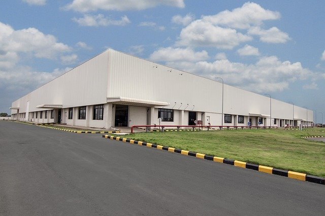 image of a industrial building representing how you can streamline your manufacturing process