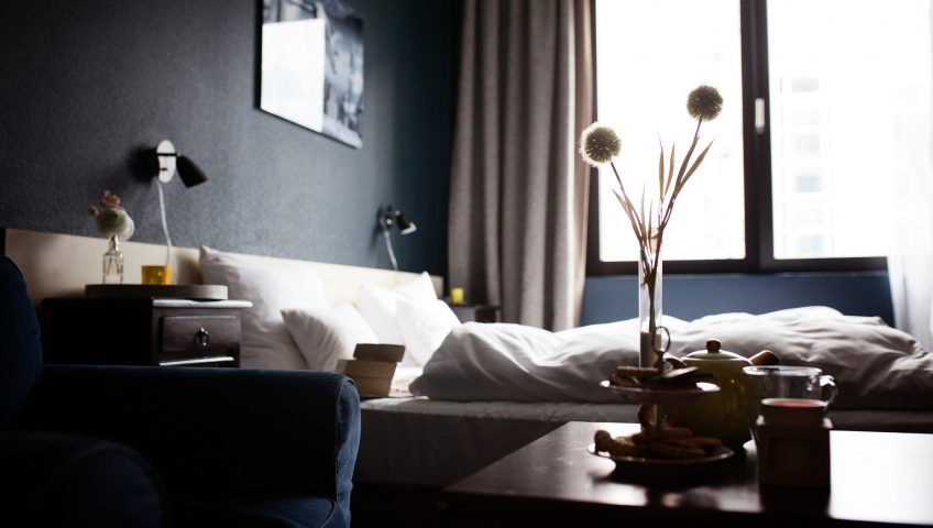 Image of a clean, organised hotel room representing the importance of creating a safer environment for your guests.