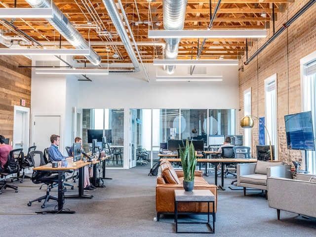 Door Designs for Interiors; An airy and well-ventilated workspace